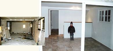 cloisonnage et faux-plafond