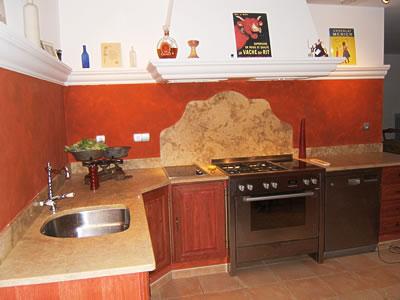 Peinture effet pour la cuisine - Peinture pour cuisine ...