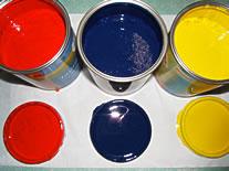 peintures à faible composé organique volatif